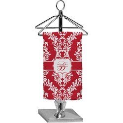 Damask Finger Tip Towel - Full Print (Personalized)
