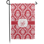 Damask Garden Flag - Single or Double Sided (Personalized)