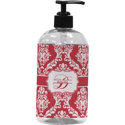 Damask Plastic Soap / Lotion Dispenser (Personalized)