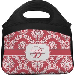 Damask Lunch Tote (Personalized)