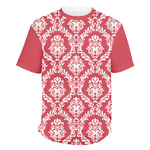 Damask Men's Crew T-Shirt (Personalized)