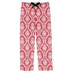 Damask Mens Pajama Pants (Personalized)