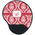 Damask Mouse Pad with Wrist Support