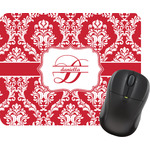 Damask Rectangular Mouse Pad (Personalized)