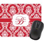 Damask Rectangular Mouse Pad (Personalized)