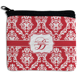 Damask Rectangular Coin Purse (Personalized)