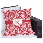 Damask Outdoor Pillow (Personalized)