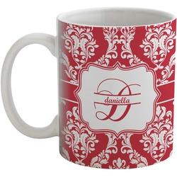 Damask Coffee Mug (Personalized)