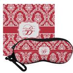 Damask Eyeglass Case & Cloth (Personalized)