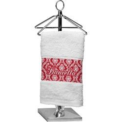 Damask Cotton Finger Tip Towel (Personalized)