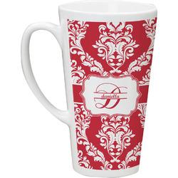 Damask Latte Mug (Personalized)