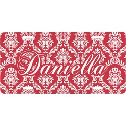 Damask Front License Plate (Personalized)