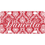 Damask Mini / Bicycle License Plate (Personalized)