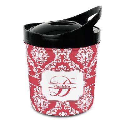 Damask Plastic Ice Bucket (Personalized)