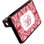"""Damask Rectangular Trailer Hitch Cover - 2"""" (Personalized)"""