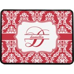 Damask Rectangular Trailer Hitch Cover (Personalized)