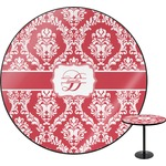 Damask Round Table (Personalized)
