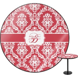 "Damask Round Table - 30"" (Personalized)"