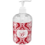 Damask Soap / Lotion Dispenser (Personalized)