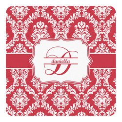 Damask Square Decal - Medium (Personalized)