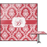 Damask Square Table Top (Personalized)