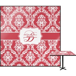 """Damask Square Table Top - 24"""" (Personalized)"""