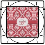 Damask Square Trivet (Personalized)
