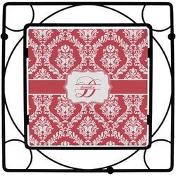 Damask Square Trivet (Personalized)