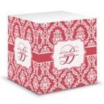 Damask Sticky Note Cube (Personalized)