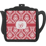 Damask Teapot Trivet (Personalized)