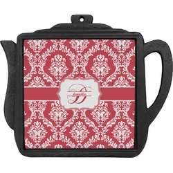 Damask Teapot Trivet (Personalized)