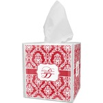 Damask Tissue Box Cover (Personalized)