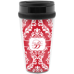 Damask Travel Mug (Personalized)