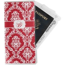 Damask Travel Document Holder