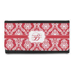 Damask Leatherette Ladies Wallet (Personalized)