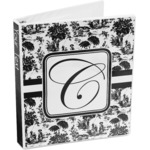 Toile 3-Ring Binder (Personalized)