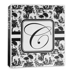 Toile 3-Ring Binder - 1 inch (Personalized)