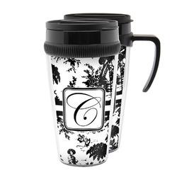 Toile Acrylic Travel Mugs (Personalized)