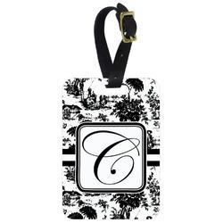Toile Aluminum Luggage Tag (Personalized)
