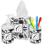 Toile Bathroom Accessories Set (Personalized)