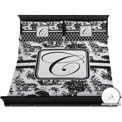 Toile Duvet Cover Set - King (Personalized)