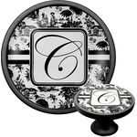 Toile Cabinet Knob (Black) (Personalized)