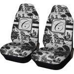 Toile Car Seat Covers (Set of Two) (Personalized)