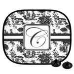 Toile Car Side Window Sun Shade (Personalized)