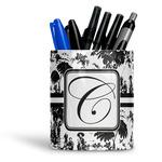 Toile Ceramic Pen Holder