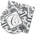 Toile Rubber Backed Coaster (Personalized)