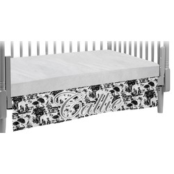 Toile Crib Skirt (Personalized)