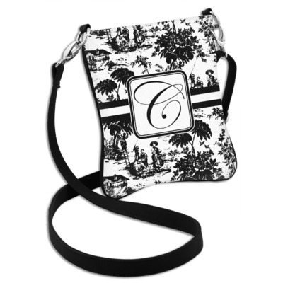 Toile Cross Body Bag - 2 Sizes (Personalized)