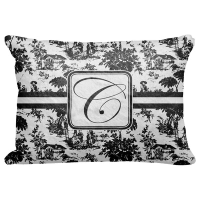 toile decorative baby pillowcase 16 x12 personalized. Black Bedroom Furniture Sets. Home Design Ideas