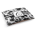 Toile Dog Bed (Personalized)